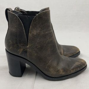 Alexander Wang Irina Leather Ankle Boots